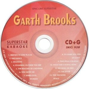 Garth Brooks Superstar Karaoke SKG 928 13 Superhits CDG