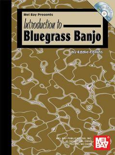 Mel Bay Introduction to Bluegrass Banjo Book w 2 CDs