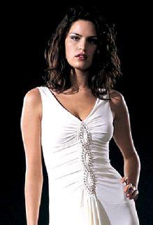 Jessica McClintock Black Jersey Long Dress 16