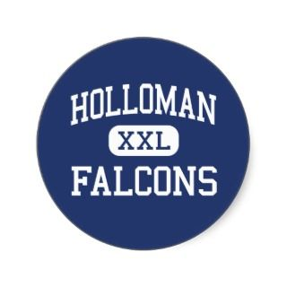 Holloman Falcons Holloman Air Force Base Round Sticker
