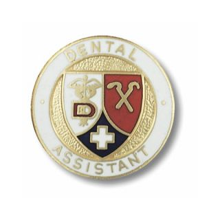 Prestige Medical Dental Assistant Emblem Pin 1096