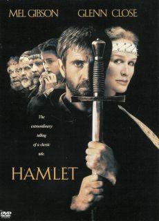 Hamlet Mel Gibson Glenn Close DVD