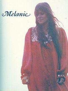 Melanie Safka 1971 Brand New Key Tour Concert Program Book