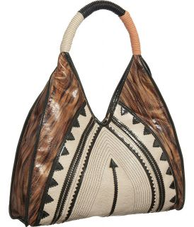 Bronze Extra Large Big Tribal Selma Hobo Designer Melie Bianco