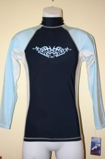 Tribalsurf Mens Rash Guard Surf Shirt SPF 50 RGMLS 5