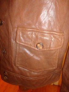 Levis Vintage Clothing LVC 1930s Menlo Cossack Jacket Dark Brown Size