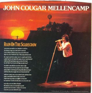 John Mellencamp Six UNPLAYED 45s and Picture Sleeves