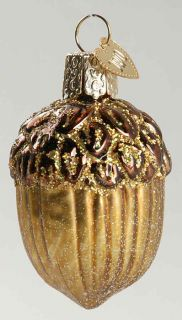 Merck Familys Christmas Ornament Acorn 7681537