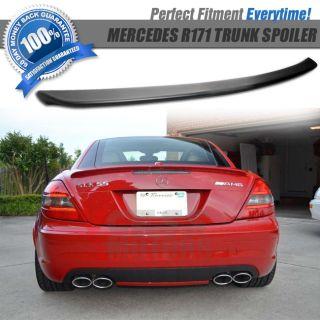 04 11 Mercedes Benz R171 SLK AMG SLK 200 280 300 Trunk Lid Spoiler