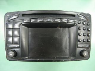 Mercedes Benz Mercedes Command Navigation Radio Part#A2038274842