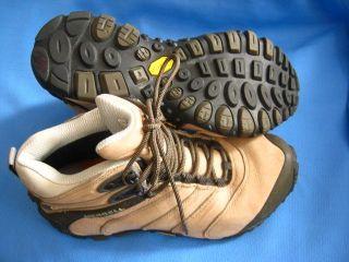 Womens Merrell Continuum Q Form Air Cushion Hiking Shoes Sz 8