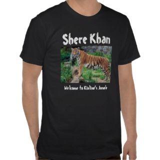Shere Khan: Welcome to Kiplings Jungle Tee Shirt