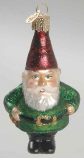 Merck Familys Old World Christmas Ornament Gnome 8855800
