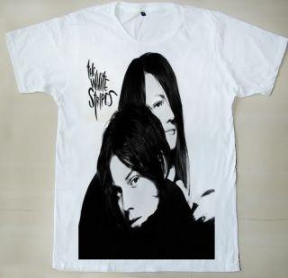 Rock Duo The White Stripes Jack White & Meg White Unisex T Shirt S,M,L