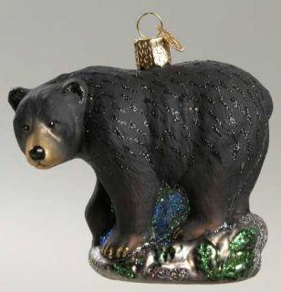 Merck Familys Christmas Ornament Black Bear 7680608