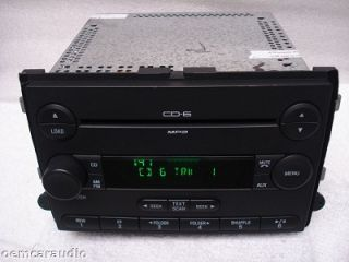 Ford Fusion Mercury Milan Radio  Aux 6 Disc CD Changer 6E5T 18C815