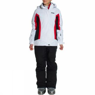 Ice Peak Meri White Black Ski Suit Womens Skiing Snow New