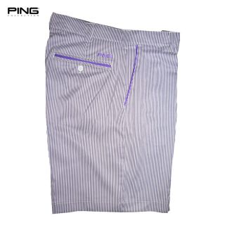 Golf Shorts Mens Ping Collection Lagoon Pin Stripe 2012 New Out
