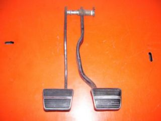 ORIGINAL CLUTCH AND BRAKE PEDALS WITH STAINLESS STEEL TRIM OPTION NR