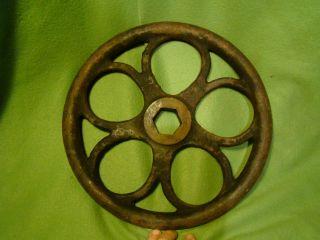 Iron 13 Hand Wheel Spoked Wheel Industrial Wheel Steampunk Wheel