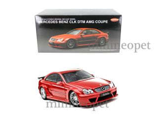 Kyosho Mercedes Benz CLK DTM AMG Coupe 1 18 Red