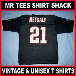 Atlanta Falcons #21 Eric Metcalf Reebok NFL Football Jersey Distressed