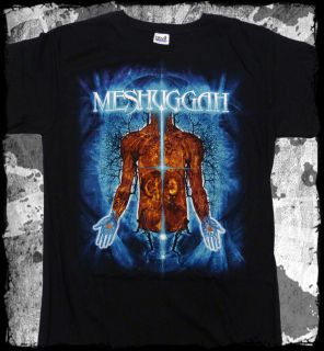 Meshuggah Branches of Anatomy Official T Shirt Fast Shipping