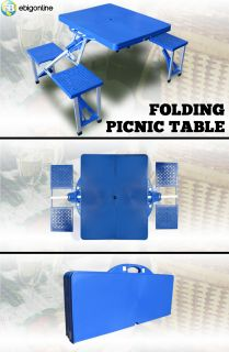 New Folding Picnic Table w Case Outdoor Park Table