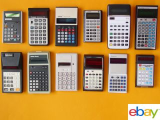 Vintage 70s Calculator Collection Sanyo CZ 8102 RARE Scientific