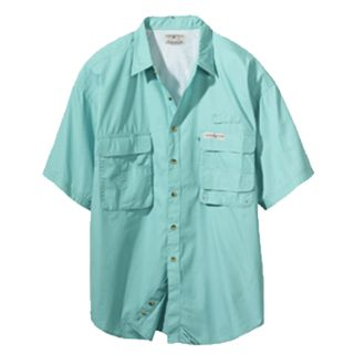 Hook Tackle Men's Gulf Stream Short Sleeve Fishing Shirt s M L XL 2X