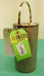 Stainless Steel Mesh Basket 4 Diameter 40 Mesh