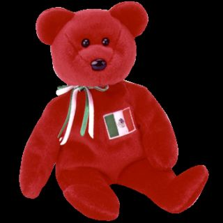 Ty Beanie Osito the Mexican bear USA Exclusive Beanie Baby the New