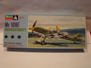 Monogram WWII German Me 109E Messerschmitt Unmade Model Kit 1/48 Scale