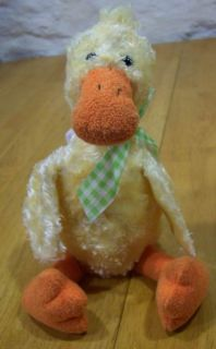 Mary Meyer Cute Yellow Duck 9 Plush Stuffed Animal