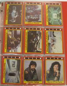 1979 Topps Alien Complete 84 Card Complete Set NM MT Vintage