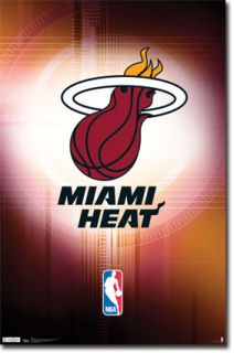 Miami Heat Logo Poster 5419