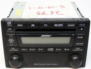 MAZDA MIATA MX5 FACTORY STEREO BOSE 6 DISC CHANGER CD RADIO ND22669R0