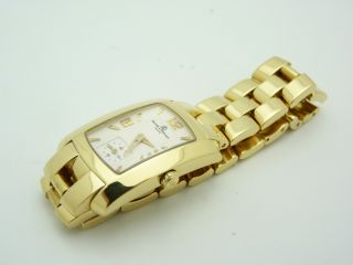 Baume Mercier MV045229 Hampton Milleis 18K Gold Ladies Quartz Watch