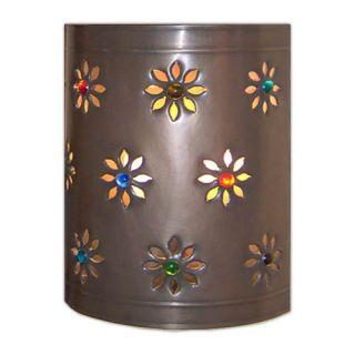 Wall Tin Lamp Cover Mexican Interiors Folk Decor Art