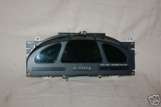 1999 2002 Mercury Villager Instrument Cluster F10 412