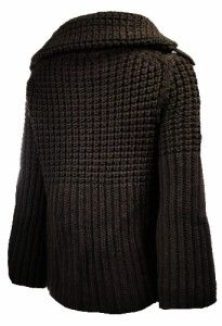 Sutton Studio Womens Large Chunky A Line Sweater 100 Wool Misses L