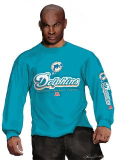 Miami Dolphins T Shirt Matt Moore NFL Football Logo Tee L