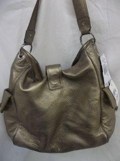 378 00 Michael Kors Riley Large Metallic Shoulder Bag 30S11RLL3M