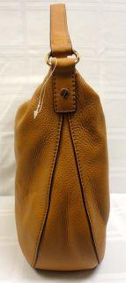 New Michael Kors Fulton Brown Leather Large Shoulder Tote Purse Bag $