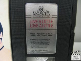 Little VHS Elvis Presley Michele Carey Don Porter 027616050434