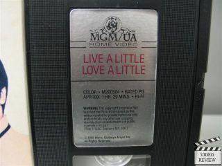 Little VHS Elvis Presley Michele Carey Don Porter 027616050434
