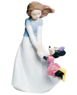 Nao by Lladro Collectible Disney Figurine, Friends With Minnie Mouse