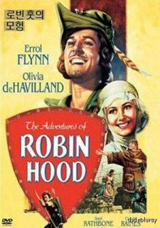 Adventures of Robin Hood DVD 1938 New Errol Flynn