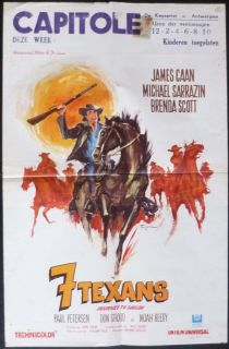 Journey to Shiloh Belgian 14x21 1968 James Caan
