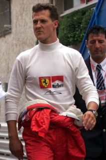 Ferrari Formula 1 Michael Schumacher Race Worn Nomex Shirt / Fernando